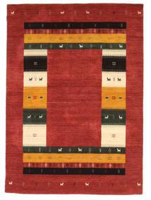 Loribaf Loom Tæppe 171X240 Ægte Moderne Håndknyttet Mørkerød/Rust (Uld, Indien)