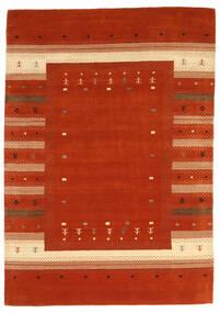 Loribaf Loom Tæppe 165X235 Ægte Moderne Håndknyttet Rust/Rød (Uld, Indien)