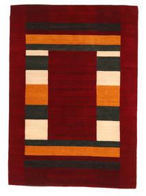 Loribaf Loom Tæppe 168X237 Ægte Moderne Håndknyttet Mørkerød/Rød (Uld, Indien)