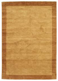 Handloom Frame - Guld Tæppe 160X230 Moderne Lysebrun/Brun (Uld, Indien)