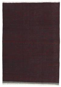 Kelim Tæppe 101X146 Ægte Orientalsk Håndvævet Mørkerød/Mørkebrun (Uld, Persien/Iran)