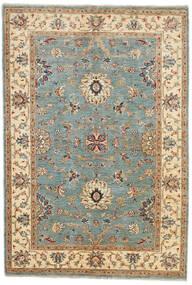 Ziegler Ariana Tæppe 123X180 Ægte Orientalsk Håndknyttet Mørkegrøn/Brun (Uld, Afghanistan)
